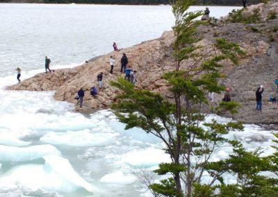 Navegación Glaciar Balmaceda y Serrano